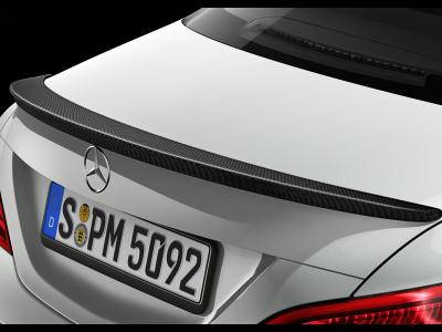 Déflecteur arrière, Finition carbone «Carbon-Style»