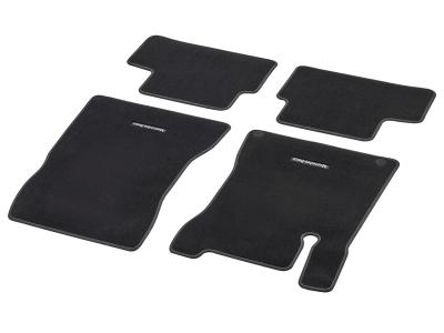Tapis en velours CLASSIC, jeu, 4 unités, Surpiqûre gris alpaga