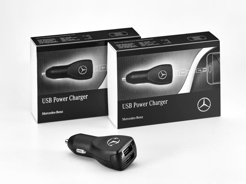 Adaptateur USB prise allume cigare Mercedes-Benz