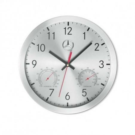 Horloge murale design grise mercedes for Horloge grise