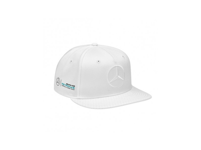 casquette hamilton blanche usa amg mercedes. Black Bedroom Furniture Sets. Home Design Ideas