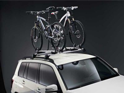 Porte-vélos pour barres de toit New Alustyle Mercedes