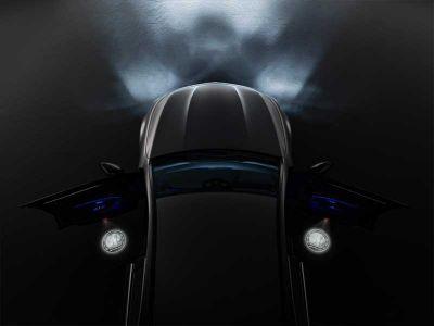 Projecteur à LED- Etoile Mercedes- 2 unités