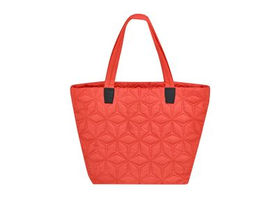 Sac shopping Mercedes corail