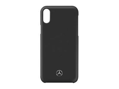 iPhone XR - Coque noire Mercedes