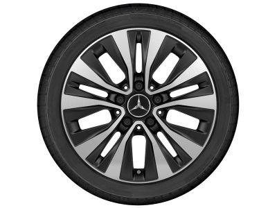 Jante Mercedes Classe A W177  Classe B W247 5 doubles branches - 16 pouces