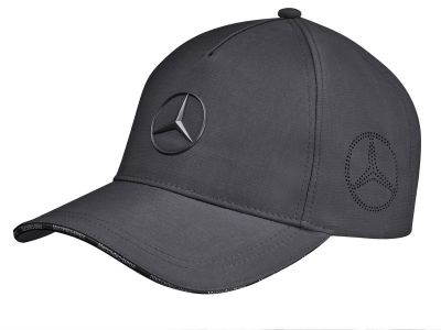 Casquette anthracite Mercedes logo étoile