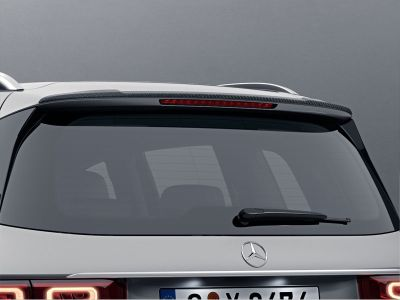 Déflecteur de toit, Finition carbone « Carbon-Style » façon carbone Mercedes GLB