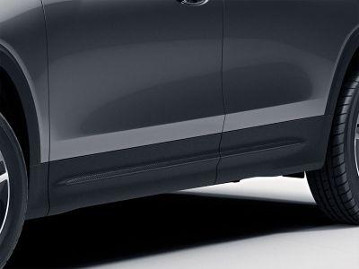 Baguette décorative du hayon arrière- Finition carbone «Carbon-Style»- Sans sorties d'échappement