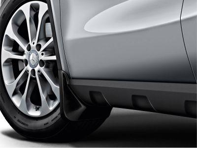Bavettes grené jeu avant Mercedes GLB SUV X247