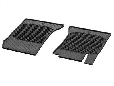Tapis caoutchouc résistants CLASSIC, tapis de sol côtés conducteur/ passager, 2 unités