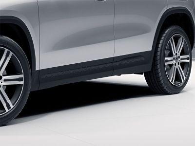 Baguettes décoratives latérales, Finition carbone « Carbon-Style » GLB SUV