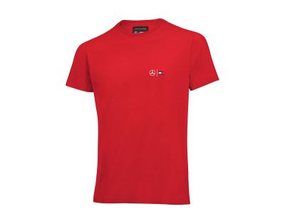 Tshirt Rouge Tommy Hilfiger pour Homme