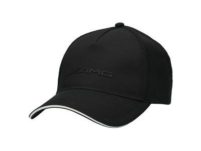 Casquette AMG noir avec logo brodé
