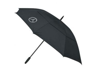 Parapluie de golf noir Mercedes 130cm