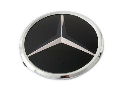 Plaque de base étoile Mercedes calandre