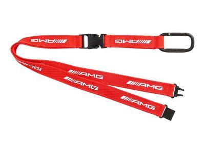 Lanière porte-clés AMG rouge