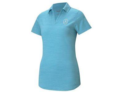 Polo de golf Bleu pour Femme