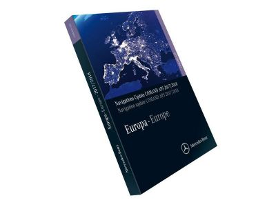 Mise a jour GPS DVD Version 2017/2018 FINAL VERSION NTG4-212 Mercedes navigation COMAND APS Europe