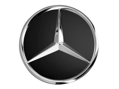 Cache-moyeu - Etoile en relief Tissu Himalaya - Mercedes-Benz - 1 unité