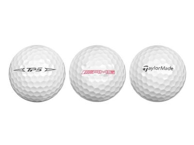 Jeu de 3 Balles de golf AMG