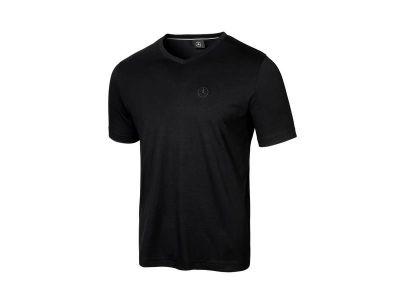 T-shirt Noir Col V Mercedes-Benz pour Homme
